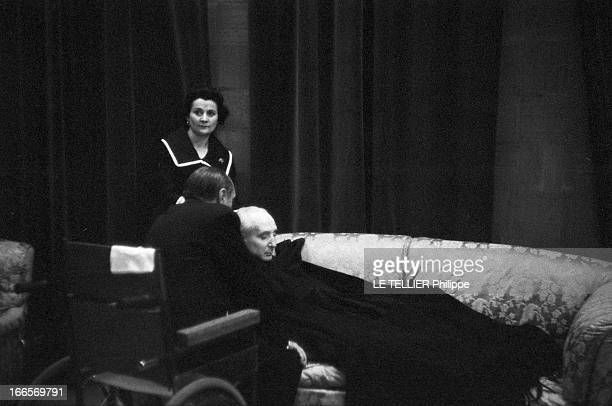 Premiere Of 'The Sleeping Beauty' By The Company 'Grand Ballet Of The Marquis De Cuevas' MonteCarlo le 27 octobre 1960 le marquis de Cuevas met en...