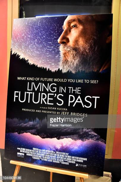 Premiere Of Vision Films' 'Living In The Future's Past' at Ahrya Fine Arts Theater on October 2 2018 in Beverly Hills California