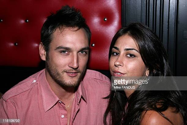 Premiere party for 'The Scorned' in Hermosa Beach United States on July 25 2005 Alex Quinn and Courtney Semel at the Premiere Party for 'The Scorned'...