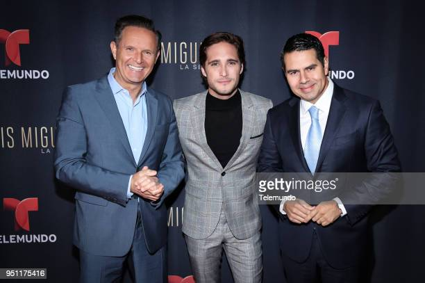 Mark Burnett Executive Producer Luis Miguel La Serie Diego Boneta Cesar Conde Chairman NBCUniversal International Group and NBCUniversal Telemundo...
