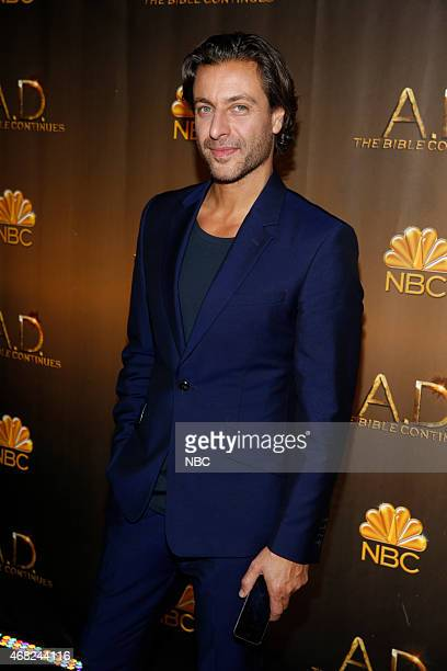 Premiere Party The Highline Hotel Red Carpet Pictured Adam Levy 'AD The Bible Continues'