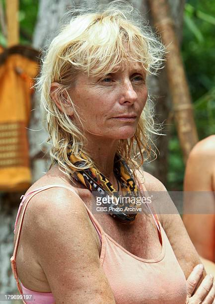 Premiere Tina Wesson during the premiere episode of SURVIVOR BLOOD vs WATER The twentyseventh installment of the Emmy Awardwinning reality series...