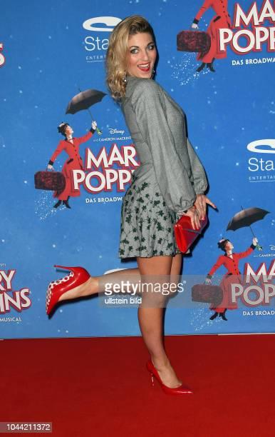 Premiere von Mary Poppins Ð Das Musical in Hamburg Roten Teppich am 25 Februar 2018 im Stage Theater an der Elbe Christine Deck