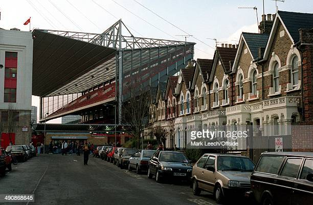 Premiership Arsenal v Newcastle United The streets around Highbury are fairly quiet in the build up to kick off