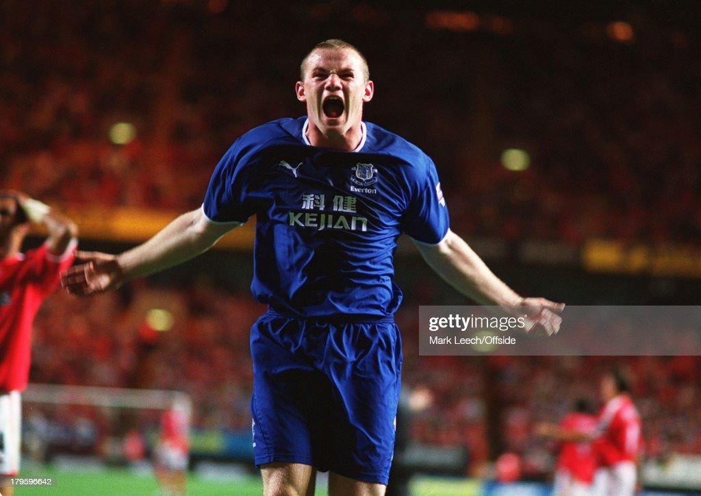 Wayne Rooney Everton 2003 : News Photo