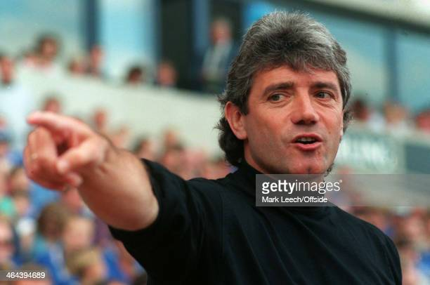Premiership Football Leicester City v Newcastle United Newcastle manager Kevin Keegan