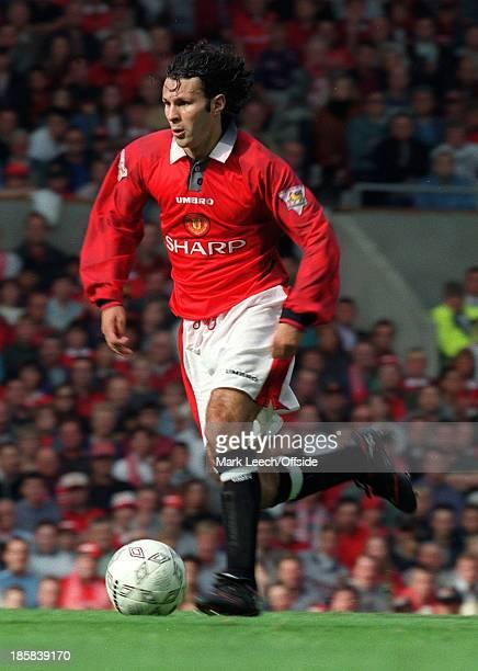 Premiership Football Manchester United v Blackburn Rovers Ryan Giggs