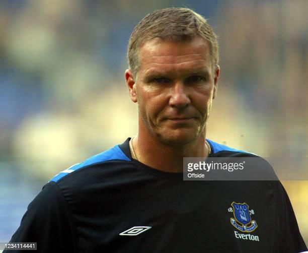 Premiership Football, Tottenham Hotspur v Everton, Everton coach Chris Woods.