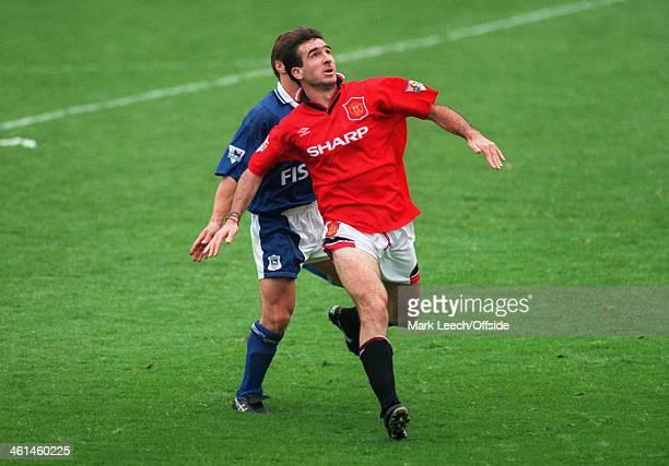 Premiership - Ipswich Town v Manchester United, Eric Cantona of United.