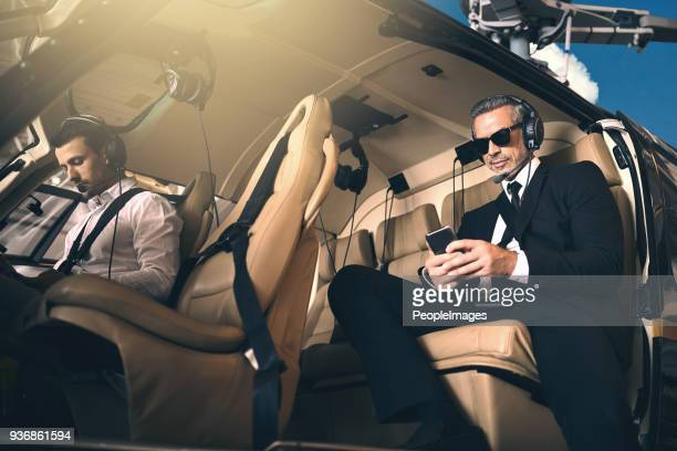 premium business requires premium transport - helicopter stock pictures, royalty-free photos & images