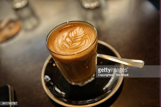 Premium coffee cup