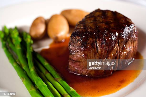 Prime Filet Mignon Steak