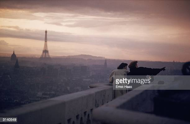 The view from Notre Dame Cathedral in Paris toward the Eiffel Tower Colour Photography book