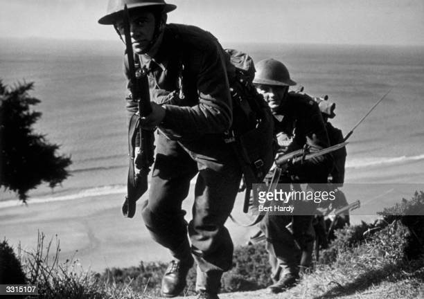 Marines take part in an invasion training exercise Original Publication Picture Post 312 We Prepare For Our Invasion pub 1940