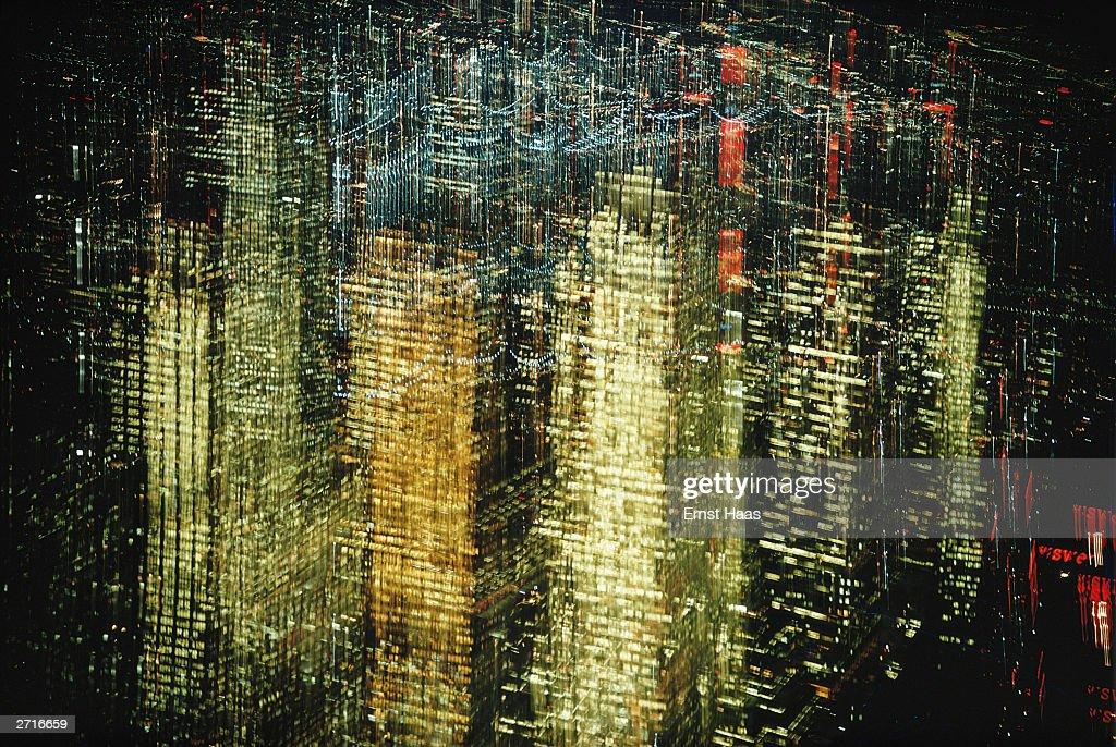 Lights Of New York : News Photo