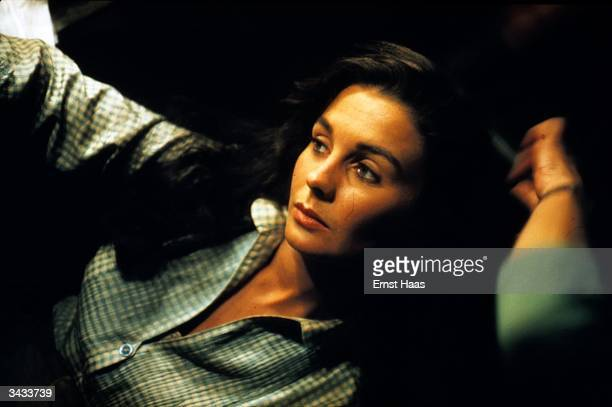 Film star Jean Simmons as she appeared in the 'Big Country' a United Artists' film directed by William Wyler