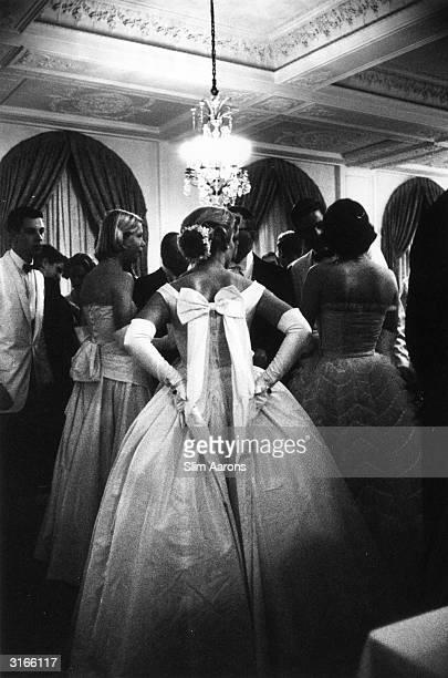 A debutante ball held at the Copley Plaza in Boston Massachusetts
