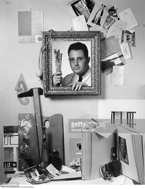 Premium Rates Apply Minimum rate $500 USD Self portrait by photographer Arnold Newman June 3 1940 in West Palm Beach Florida