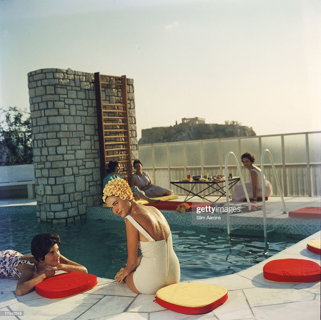 Penthouse Pool : News Photo