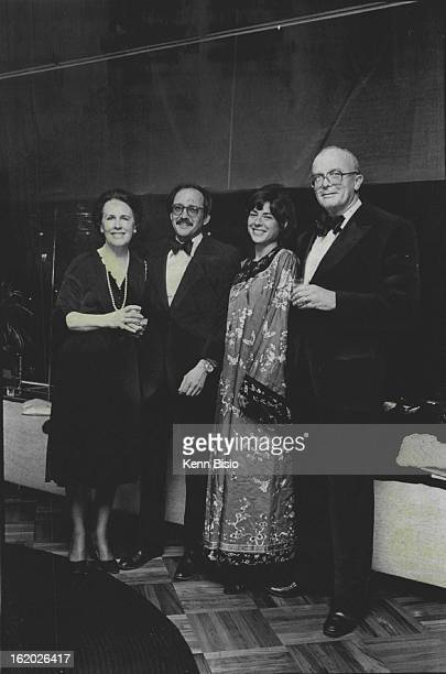 APR 24 1980 APR 28 1980 PreMovie Party Staged In Founder's Room Joining the party crowd in the Founder's Room at the Helen Bonfils Theatre Complex at...