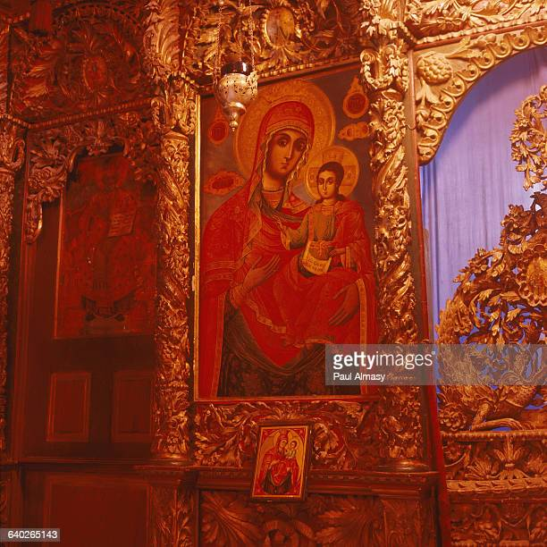 Iconostasis of the Church of the Transfiguration