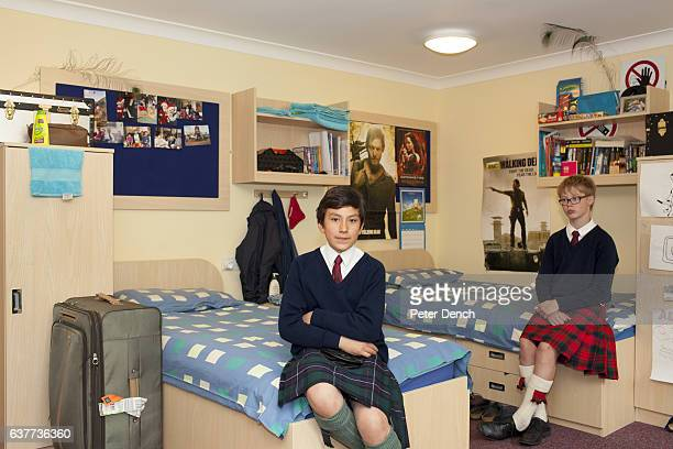 Prep school pupils at Fettes College Christian and Alexander in the dormitory they share Fettes College is a private coeducational independent...
