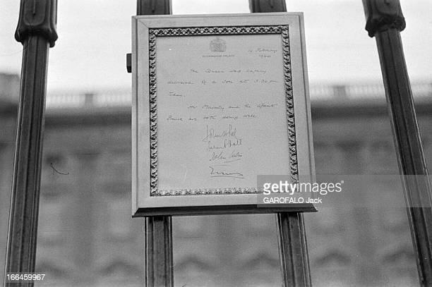 Preparation And Delivery Of Queen Elizabeth Of England Londres 19 février 1960 La naissance du prince Andrew troisième enfant de la Reine Elizabeth...
