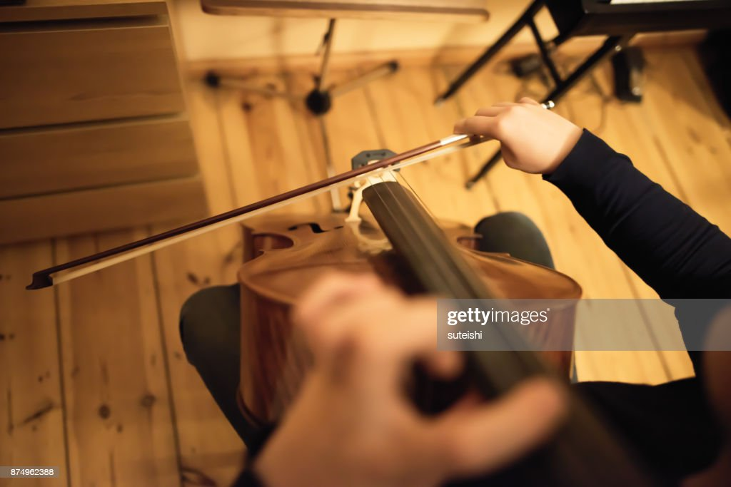 preparation for the next concert : Stock Photo