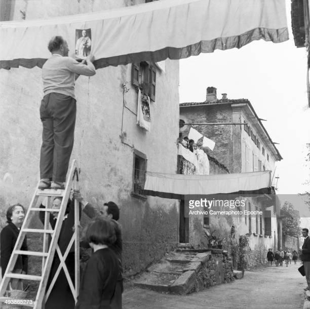 Preparation for the Pope John XXIII Election Celebration