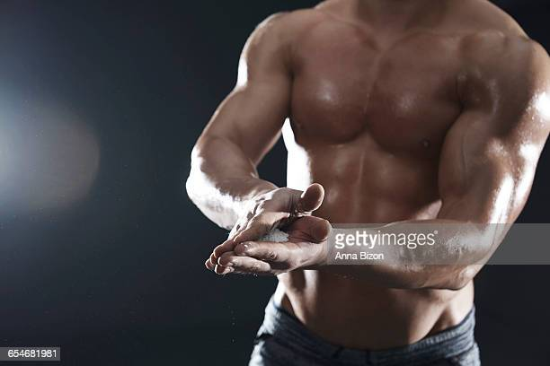 preparation for todays workout. debica, poland - low section stock pictures, royalty-free photos & images