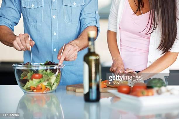 Preparation in the kitchen