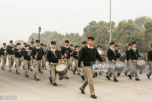 Preparation is going on to celebrate India's 67th Republic Day on Rajpath, from President's House to India's Gate. India celebrate Republic Day on...
