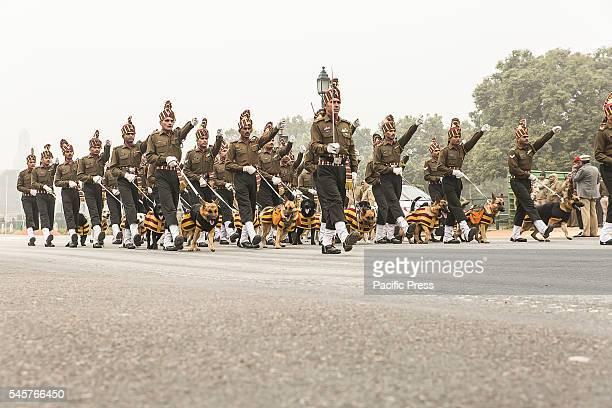 Preparation is going on to celebrate India's 67th Republic Day on Rajpath, from President's House to India Gate. India celebrate Republic Day on...