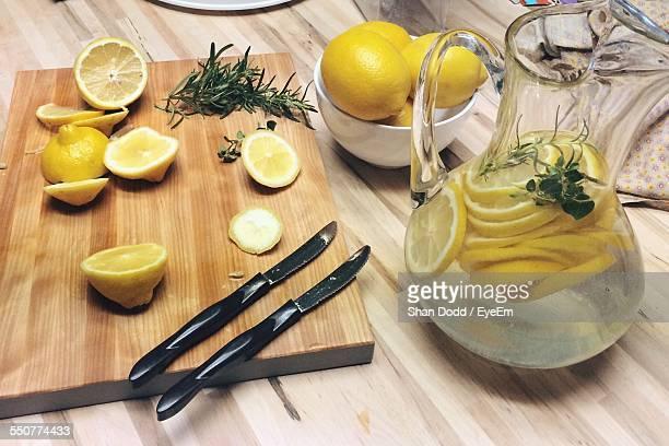 Preparation Of Lemon Juice