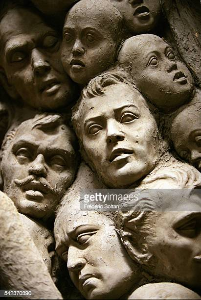Preparation of the festival in the Kumartuli neighborhood where are living 300 families of sculptors Each year they make statues of Goddess Durgathat...