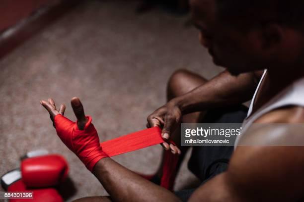 voorbereiding - vechtsport stockfoto's en -beelden