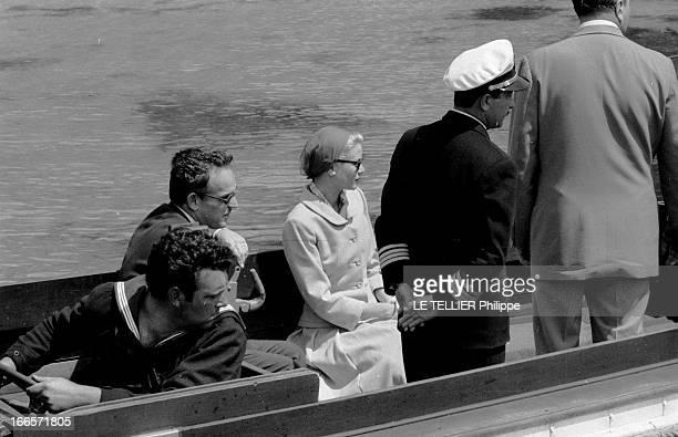 Preparation Wedding And Honeymoon Of Grace Kelly And Rainier Iii Of Monaco Formentor Mai 1956 Lors de leur voyage de noces le Prince Rainer DE MONACO...
