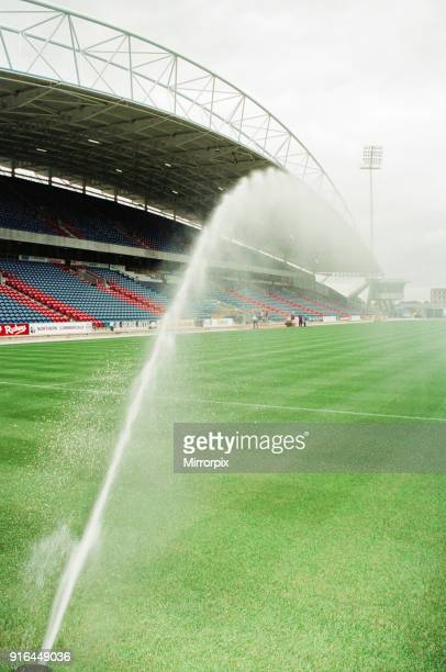 Preparations ahead of Inaugural match at the new Huddersfield Town Alfred McAlpine Stadium A match between Huddersfield Town and Wycombe Wanderers...