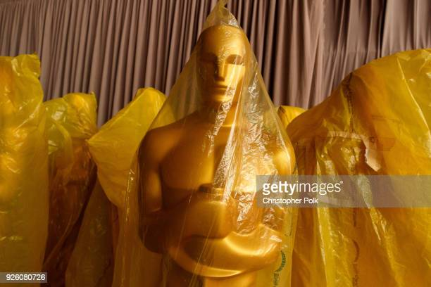 Preparations continue for this years 90th Oscars on March 1 2018 in Hollywood California