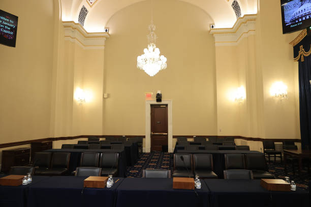 DC: House Prepares For First Hearing Of Select Committee On January 6 Capitol Riot