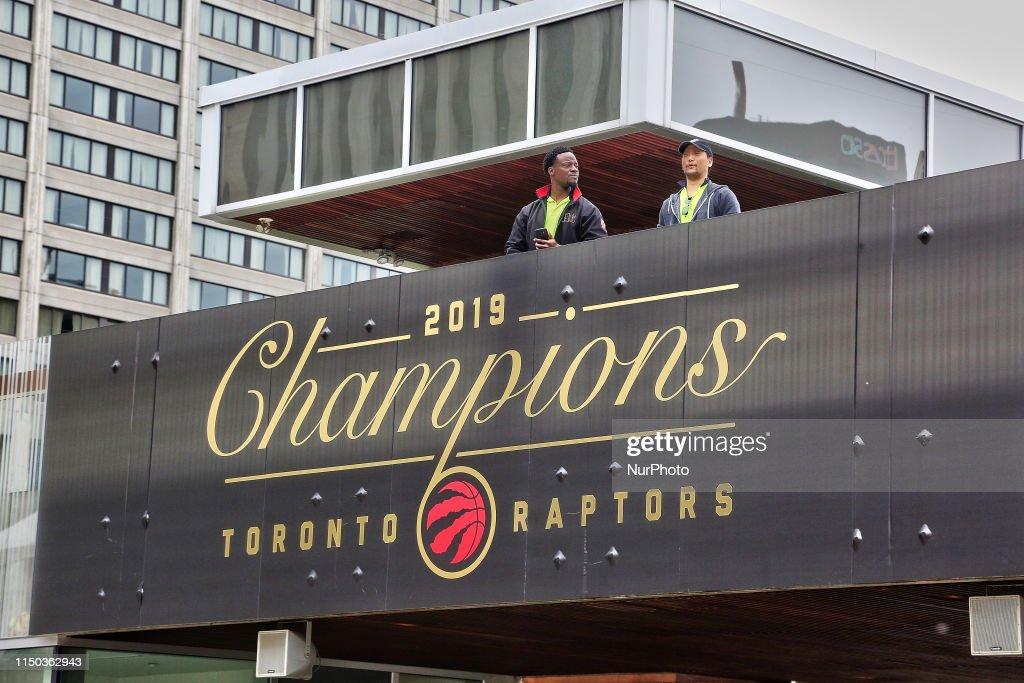 Toronto Raptors 2019 NBA Champions : News Photo