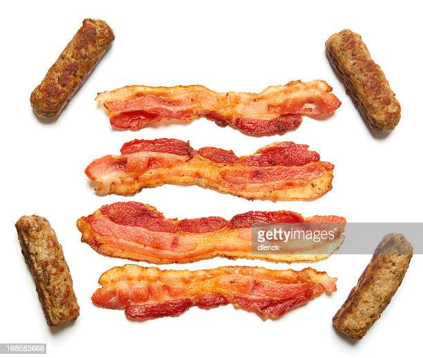 Prepared Bacon and Sausage Links