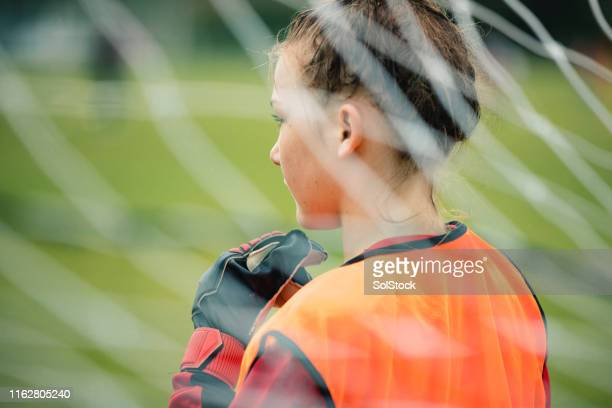 prepared goalie - playing stock pictures, royalty-free photos & images