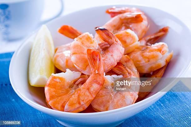 prepared shrimp - shrimp stock photos and pictures