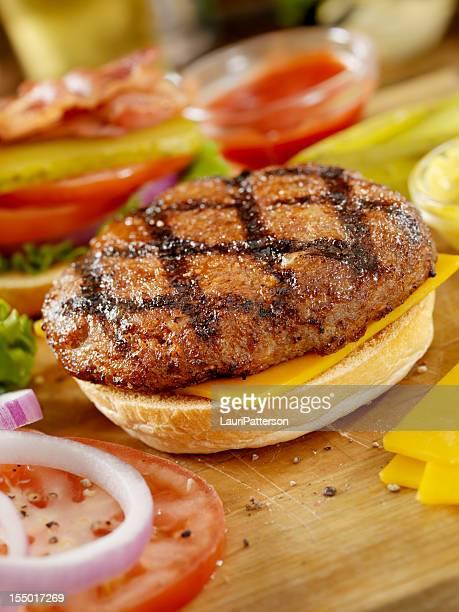 Preparing a Hamburger