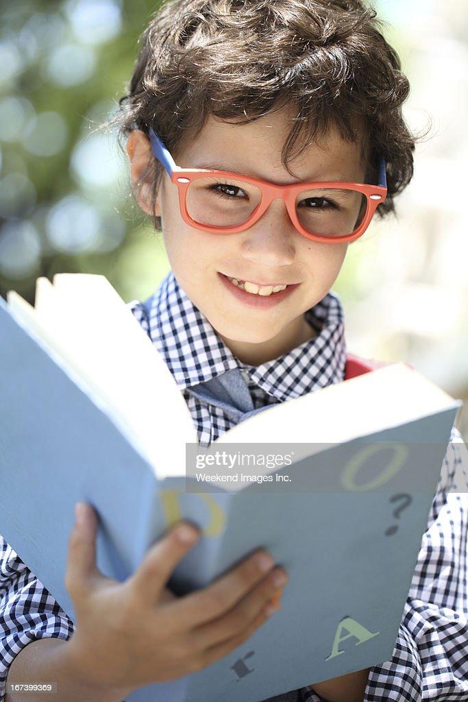 Preparing a homework : Stock Photo