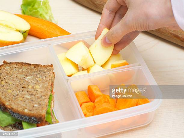 Preparing a packed lunch