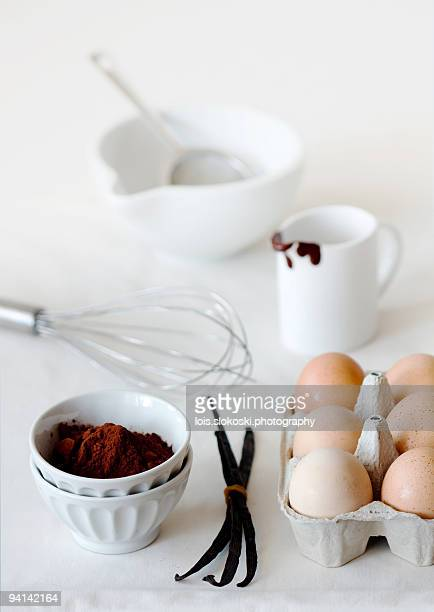 Preparing Chocolate Mousse