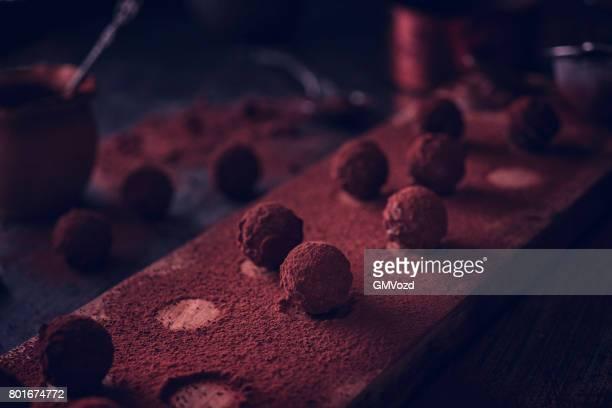 Préparer les plus beaux des Pralines au chocolat maison
