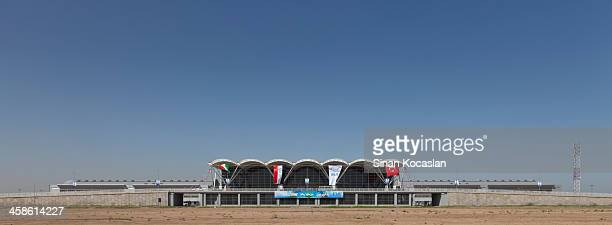 opening ceremony の準備のアルビル国際空港にございます。 - アルビール ストックフォトと画像